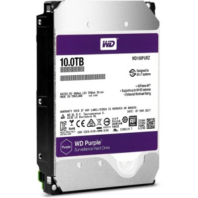 HDD WESTERN PURPLE 10TB WD100PURZ