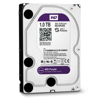 HDD WESTERN PURPLE 1TB WD10PURZ