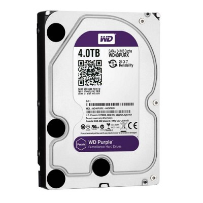 HDD WESTERN PURPLE 4TB WD40PURZ